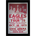 Luxe West RCP00047 Eagles Retro Concert Poster