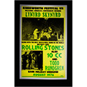 Luxe West RCP00083 Lynyrd Skynyrd Retro Concert Poster