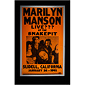 Luxe West RCP00085 Marilyn Manson Retro Concert Poster
