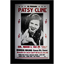 Luxe West RCP00093 Patsy Cline Retro Concert Poster