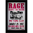 Luxe West RCP00099 Rage Retro Concert Poster