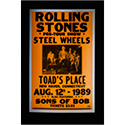 Luxe West RCP00102 Rolling Stones Retro Concert Poster