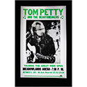 Luxe West RCP00113 Tom Petty Retro Concert Poster