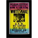 Luxe West RCP00116 White Snake Retro Music Concert