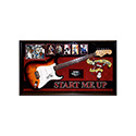 Luxe West RSSG03 Rolling Stones Signed Guitar (Start Me Up)
