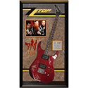 Luxe West ZZTOP-RLLG ZZ Top Band Signed Guitar