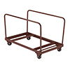 National Public Seating DY-60R - Folding Table Dolly, Vertical Storage
