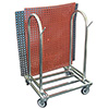 Mat Rack Holds Ten 3 ft. x 5 ft. Mats