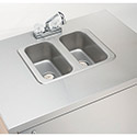 Portable Hand Sink - 2 Compartment