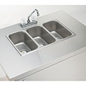 3-Compartment Portable Hand Sink