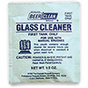 Glass Cleaning Detergent Regular Formula, 100 Pouches per case