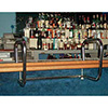 Bar Rail Service Station - Chrome Plated