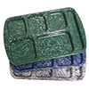 """Mottled Melamine Six Compartment Tray - For Right Hand Use - 15""""Wx10""""D"""