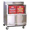 "Cold Wall Milk Cooler - Stainless Steel Exterior, Holds (8) 13""x13"" Crates, 12.15 Cu. Ft."