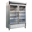 Nor-Lake GR49SSG/0 Grand Refrigerator, Two Glass Doors, 49 Cubic Ft.