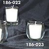 "Glass Votive Candle Holders, 2-1/8""Diam.x2-5/8""H"