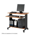 """Safco 1921CY Muv Fixed-Height Desk, 35"""""""