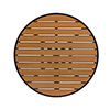 """Synthetic Teakwood Table Top, 32"""" Round"""