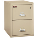 "FireKing 2-1929-2PA 2 Drawer Letter 31"" Depth Two Hour Vertical Files"