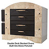 """Commercial Pizza Oven - Display Deck, 60""""Wx36""""D Single"""