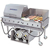 Outdoor Gas Grill - 60 Inches Wide, 160,000 BTU, 4 Burners