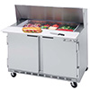 Sandwich Table - Front Breathing Mega-Top Two Doors, 13.9 Cu. Ft.