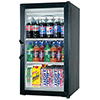 Glass Door Refrigerator One Door, Mini Merchandiser
