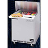 "Sandwich Prep Table - Elite Series Front Breathing 1 Door, 27""W, 7.3 Cu. Ft."