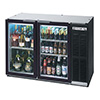 "Beverage-Air BB36G-1-B - 36"" W Back Bar Cooler"