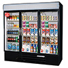 "MarketMax Dual Temp Merchandiser - 15 Shelves, 72 Cu. Ft., 75""W"
