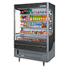 "Beverage-Air VM18-1-B - 51"" W Vuemax Open Air Merchandiser"