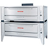 "Gas Pizza Oven 60"" Wide Baking Compartment, 2 Decks"