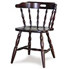 "Old Dominion 204 Mate's Chair, Wood Seat, 22-1/4""W"