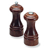 Statesman Pepper Mill and Salt Shaker Set - Walnut, 5 Inches High