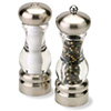 "Del Norte Pepper Mill and Salt Shaker Set - 7""H"
