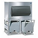 """Ice Bin and Cart System - 1350 lbs. Capacity, 60""""Wx40""""Dx73-1/2""""H"""