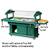 "Food and Salad Bar - Standard Height, Enclosed Base, 71-1/2""W"
