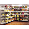 "Premium Shelving - 60""Wx21""Dx72""H 4 Shelf Stationary Starter Kit"