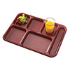 6 Compartment Cafeteria Tray Camwear