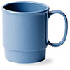 Polycarbonate Dinnerware 7-1/2 oz. Stacking Cup