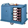 """Meal Delivery Cart - Low Profile, Holds 14""""Wx18""""D Trays"""
