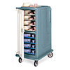 """Meal Delivery Cart - High Profile, Holds 15""""Wx20""""D Trays"""
