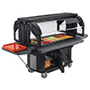 Versa Food Bar - Standard Height, Enclosed Base, Holds 5 Full-Size Pans