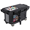 Versa Work Table - Standard Height, Enclosed Base, Holds 4 Full-Size Pans