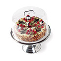 Display Cake Cover Round, Clear
