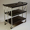 "Folding Utility Cart - 40""Wx20-1/2""D (Unfolded)"