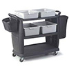 "Bussing/Transport Cart - Large, 42""Wx23""Dx38""H"