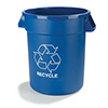 Round Recycle Container - 20 Gallon Capacity