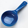 High Heat Measure Miser Spoon/Food Portioner - 8 oz., Blue