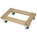 Wesco 272058 Flush open deck wood dolly